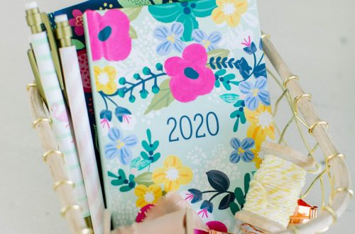 Diary showing 2020